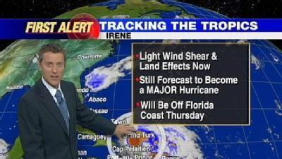 Irene Expected To Become Major Hurricane