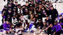 Basket - NBA - NBA : les Los Angeles Lakers champions 2019-2020, après leur victoire contre Miami dans le match 6 de la finale