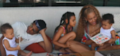 Beyoncé and Jay-Z's kids make rare cameos in doc