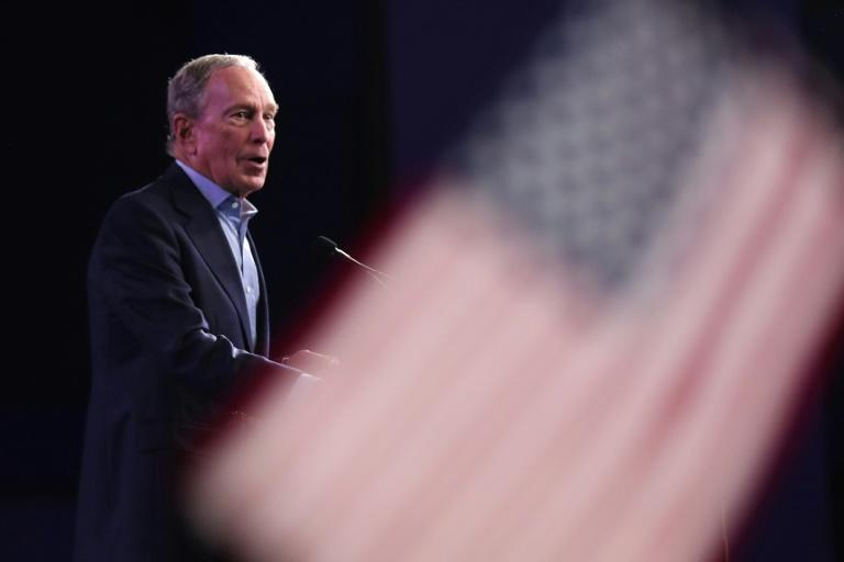 Democratic presidential candidate former New York City mayor Mike Bloomberg spent an estimated $18 million for each delegate he won