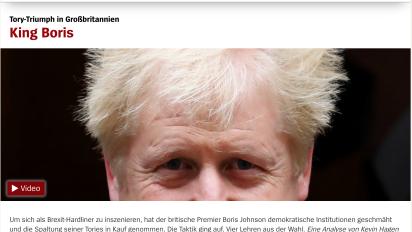 German media reacts cautiously to 'King Boris'