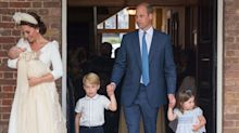 An Unseen Photo Shows Prince William with Prince George, Princess Charlotte, and Prince Louis