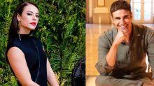 Paolla Oliveira e Reynaldo Gianecchini soltam o gogó e cantam 'Evidências'