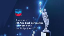 Chevron hailed as among Asia's best employers for 2020