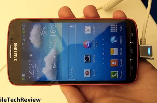 Galaxy S 4 Active caught on camera again, reported specs are lower than regular GS4 (video)