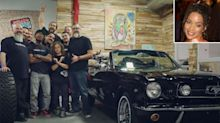 Jason Momoa Restores His Wife Lisa Bonet's First Car, a 1965 Mustang: '14 Years in the Making'