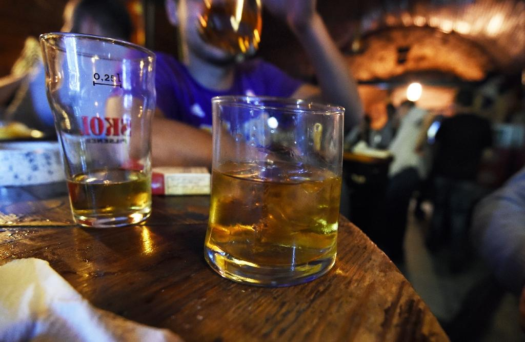Binge drinking among young people has increased in many countries in recent years, an OECD report says (AFP Photo/Farouk Batiche)
