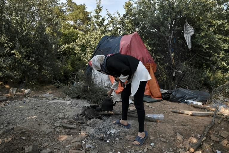 """A new Greek migration official called the situation on the island of Samos """"unbearable"""""""