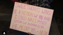 High school students condemned for using Nazi salute and Hitler-themed dance proposal