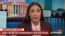 Alexandria Ocasio-Cortez claims Trump lied about immigrants in Oval Office address
