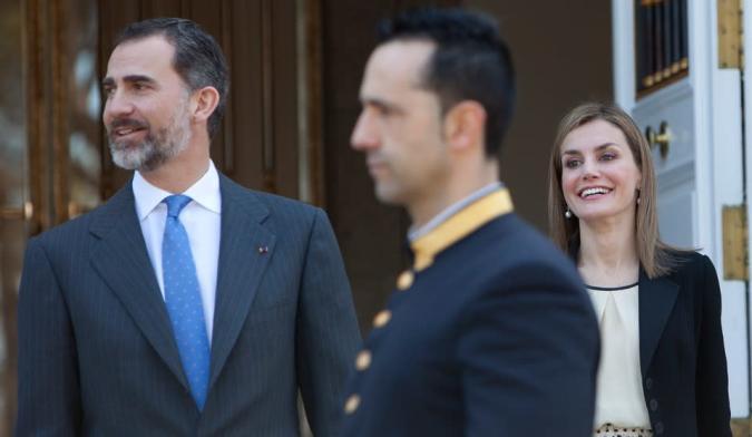 Unos drones no identificados preocupan a la familia real española