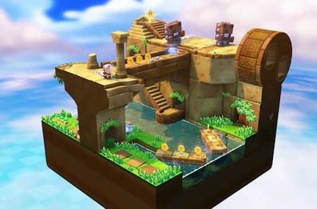 Riding mine carts and shooting turnips in Captain Toad's Treasure Tracker