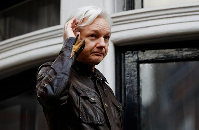 Filing reveals sealed charges against WikiLeaks founder Julian Assange