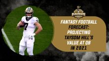 Taysom Hill's QB Fantasy Projection in 2021
