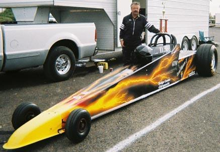 All-electric dragster sets electric vehicle quarter mile record