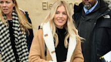 Sienna Miller pairs $200 coat with $2,500 boots at Sundance