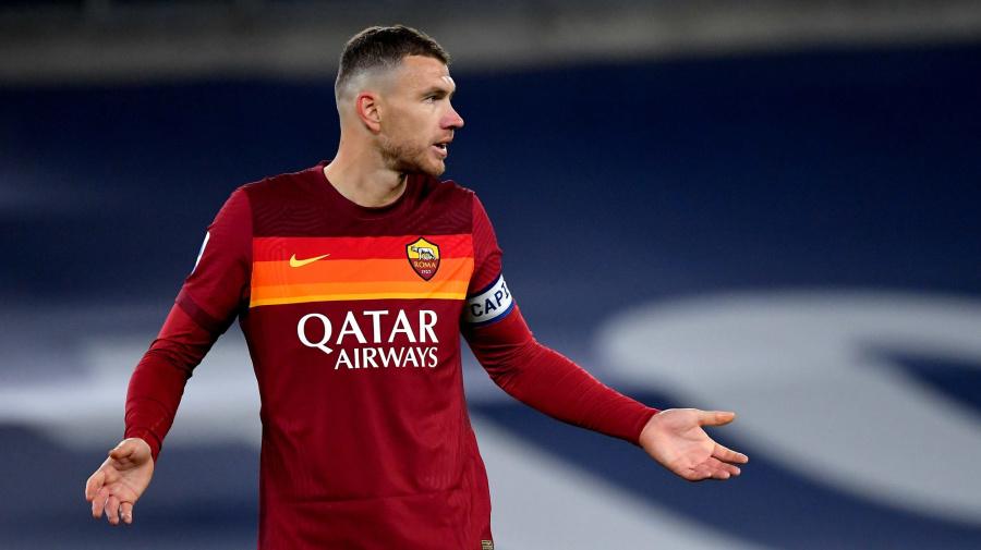 Roma-Dzeko, crepa sempre più ampia: Fonseca ha vietato al bosniaco di allenarsi, con il Verona resterà ancora fuori
