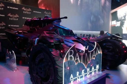 Seen@E3: Da-nanananananana Batmobile