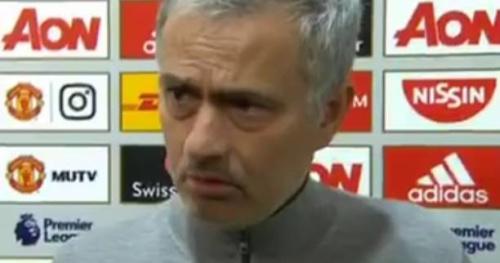 Foot - ANG - MU - Manchester United : José Mourinho énervé par la question d'un journaliste