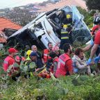 Madeira bus crash: Twenty-nine dead after tourist coach overturns on Portuguese island