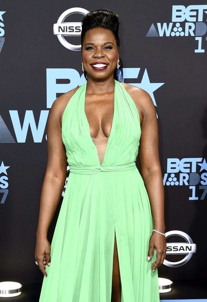 Leslie Jones arrives at the BET Awards at the Microsoft Theater on Sunday, June 25, 2017, in Los Angeles. (Photo: Richard Shotwell/Invision/AP)