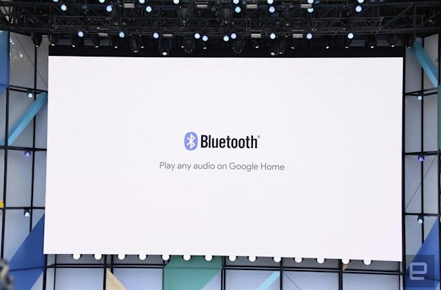 A few Google Home owners already have Bluetooth enabled