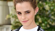 Emma Watson Wore a Top Made Entirely of Leftover Fabric Scraps