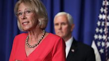 Betsy DeVos is under investigation for potentially violating the Hatch Act when she slammed Joe Biden in a Fox News interview