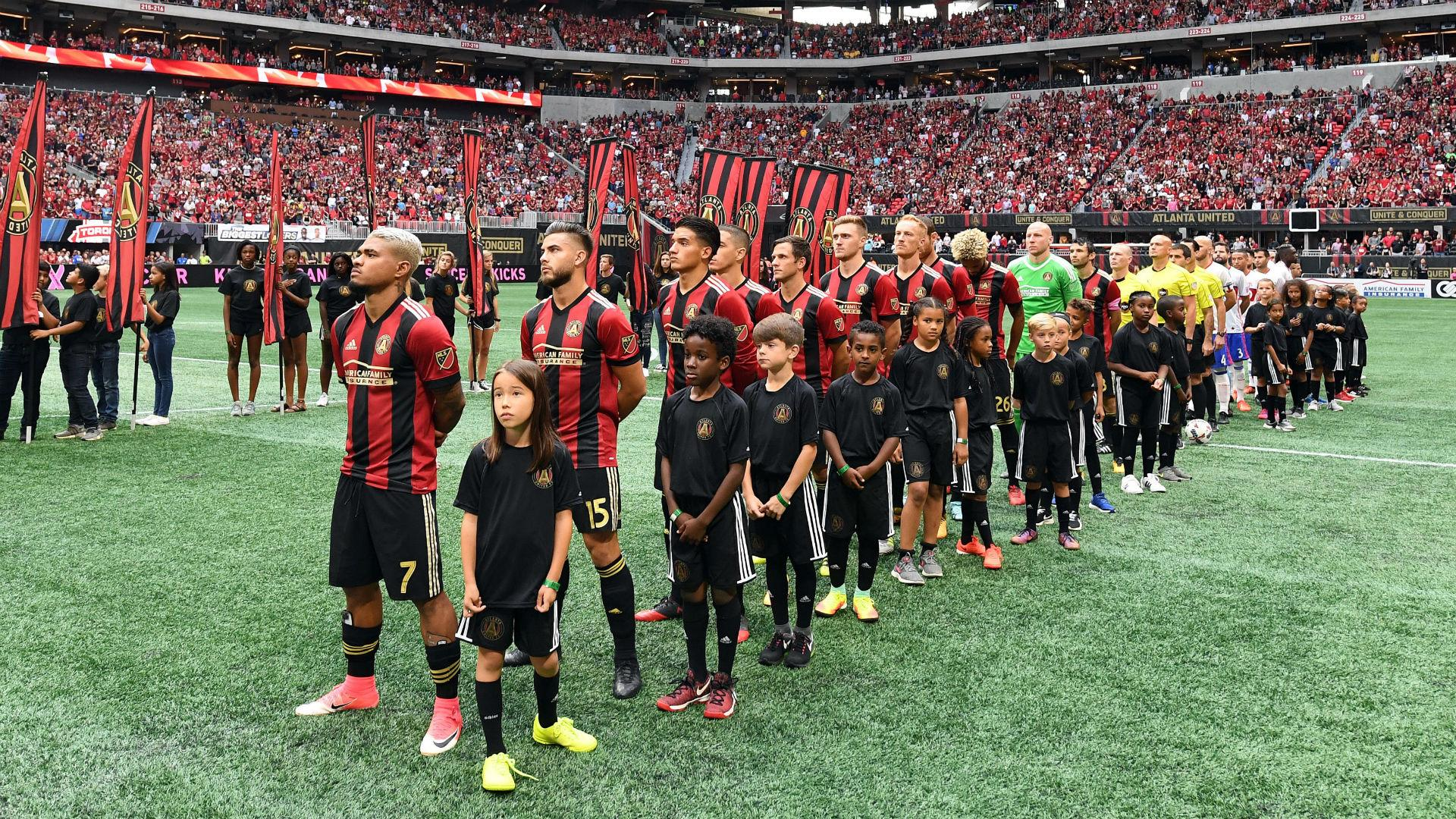 Soccer Atlanta United FC news page about is Atlanta Gas Major League Soccer franchise which began play in 2017