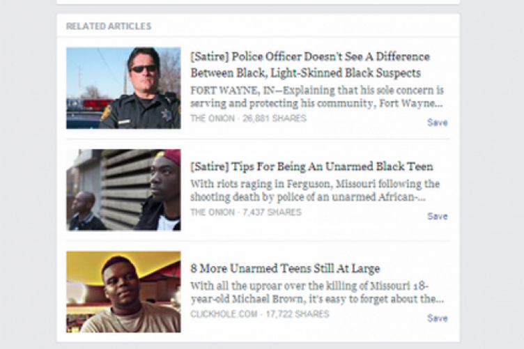 Facebook Is Testing A New Satire Tag For Spoof News Articles