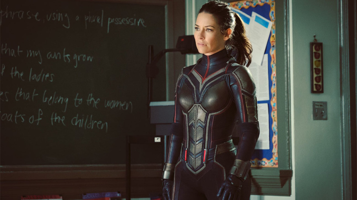 Evangeline Lilly: 'Wasp' costume took months to perfect but made her 'feel damn sexy'