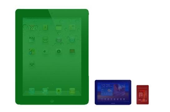 Apple lords over tab market in Q1 2012, Samsung bumps Kindle in scuffle for scraps