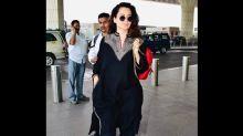 Kangana Ranaut's Latest Airport Look Includes A Beautifully Done Phiran