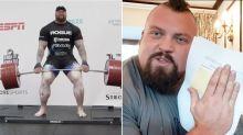 'La Montaña' bate el récord del mundo en peso muerto y reta a una pelea a su predecesor