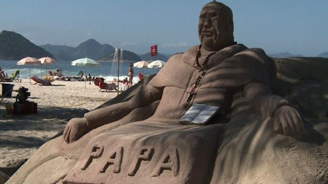 Brazil prepares for arrival of pope, World Youth Day