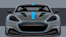 Aston Martin reveals the RapidE, its first electric car