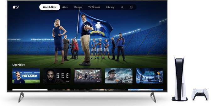 Apple TV+ on PlayStation 5