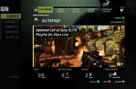 Call of Duty Elite subs getting four more pieces of unnamed MW3 content this year