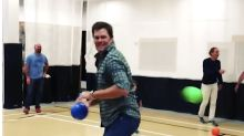 Tom Brady And Gisele Bundchen Will Mess You Up In Family Dodgeball
