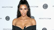 Kim Kardashian Wore Her Sexiest Pair of Bike Shorts Yet, Complete With a Super Tiny Crop Top