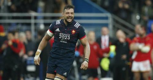 Rugby - Tournoi - L'essai décisif de l'équipe de France réattribué à Damien Chouly