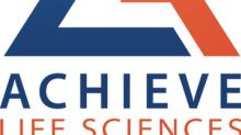 Achieve Announces Results of Clinical Study Demonstrating Similar Bioavailability of Cytisine in Fed and Fasted Subjects