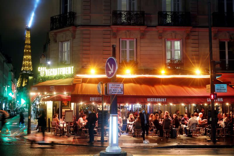 Paris bans nightime food and drink delivery to tackle worsening COVID-19 crisis