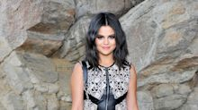 Selena Gomez Rocked Leather and Lace at the Louis Vuitton Cruise Show