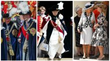 Royals pull out all the stops for Order of the Garter ceremony