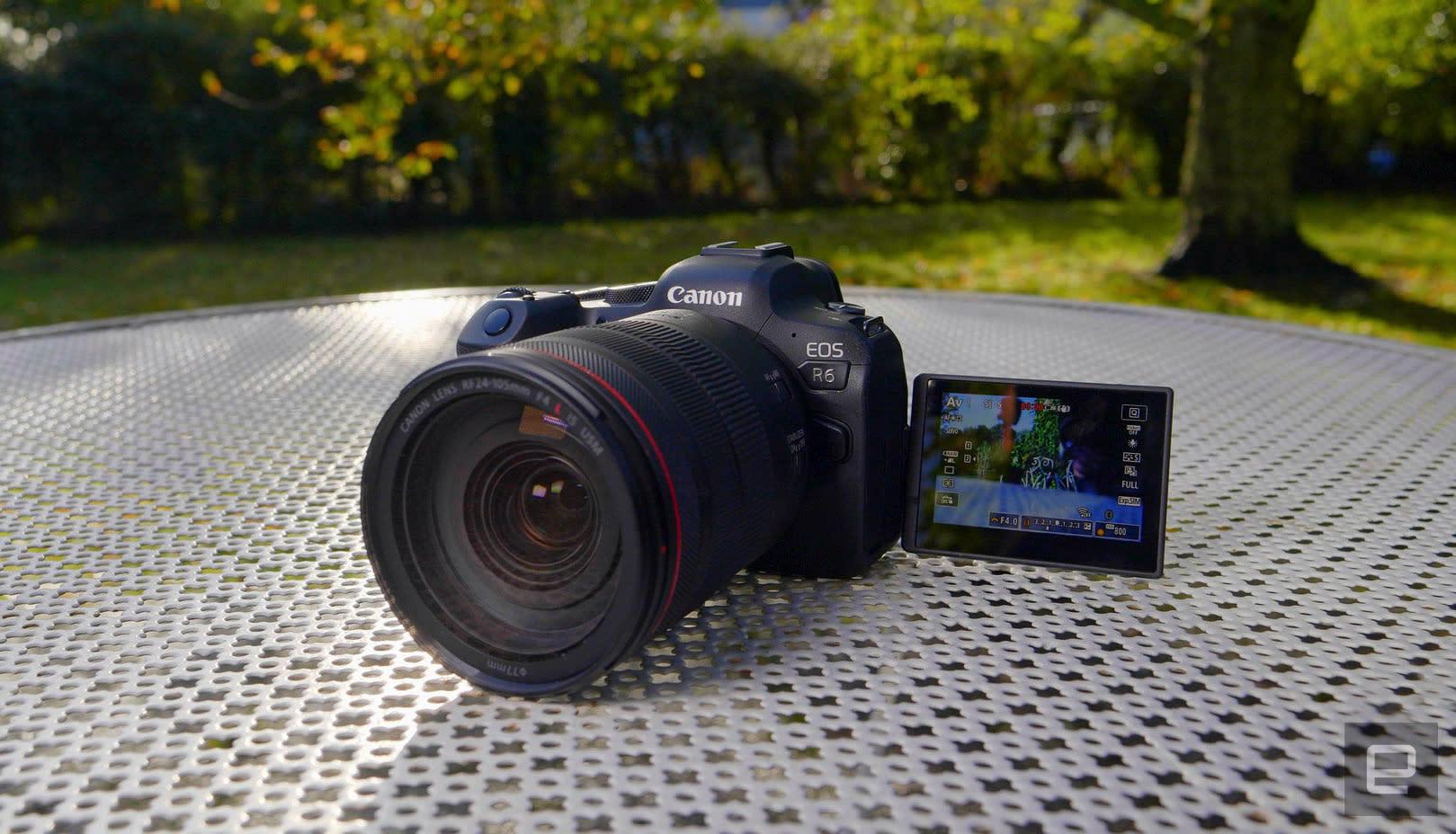 Canon EOS R6 camera