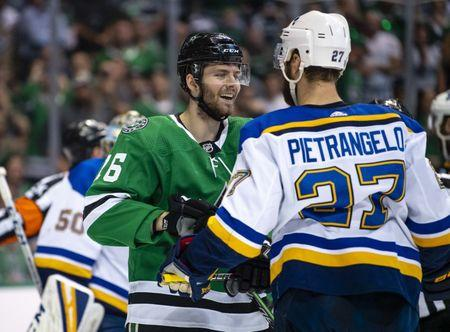 Blues Force Game 7 With Road Win At Stars