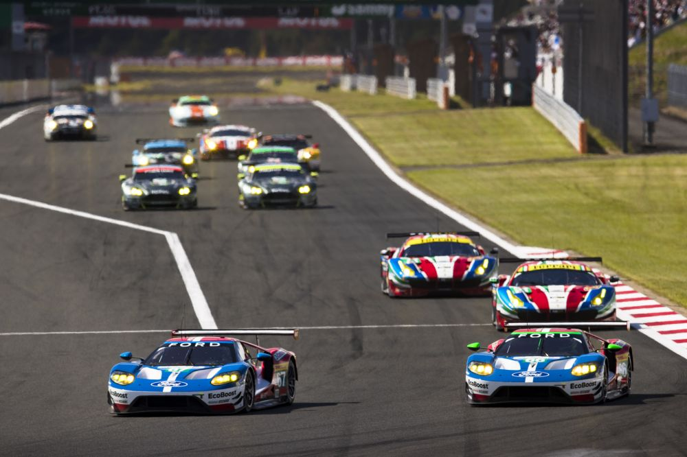 Fords GT Takes Top Two Spots in Japan