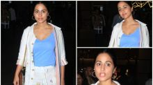 FASHION CULPRIT OF THE DAY: Hina Khan, Whatever Happened To Looking Stylish At Airport?