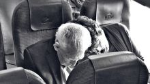 This photo of an older couple on a plane is going viral for the best reason